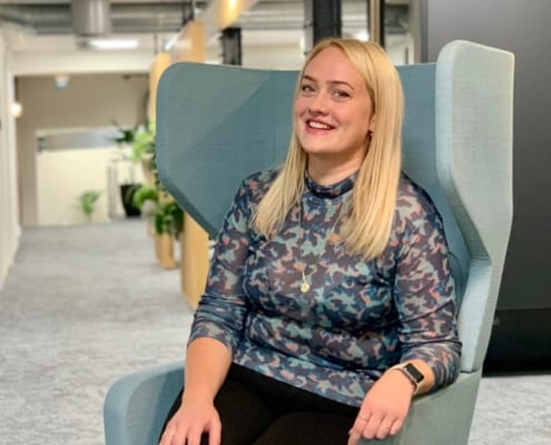 Den nyansatte markedskonsulenten Tina Tobiassen