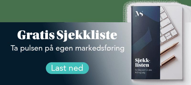 Banner for gratis sjekkliste