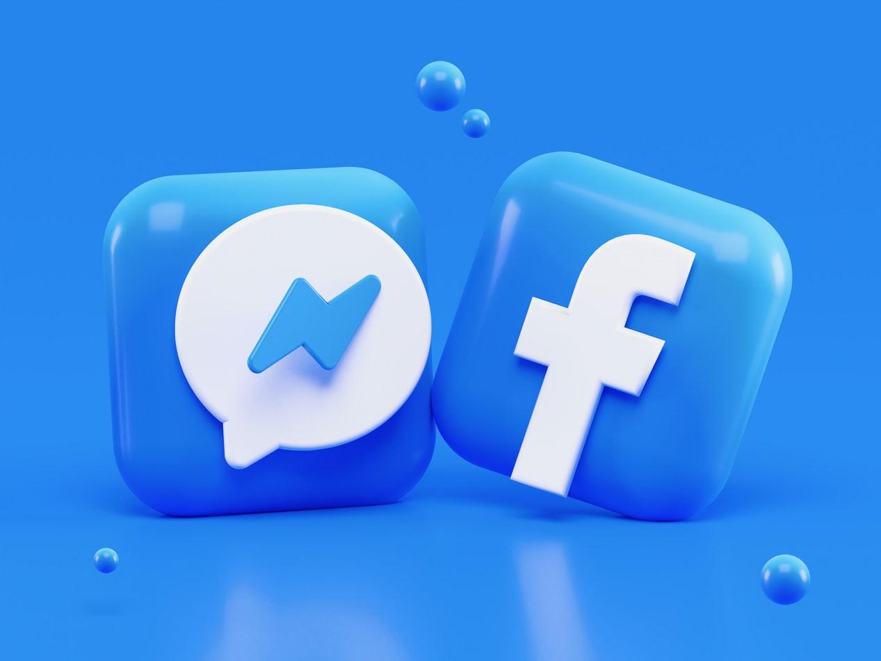 facebook og messenger illustrasjon