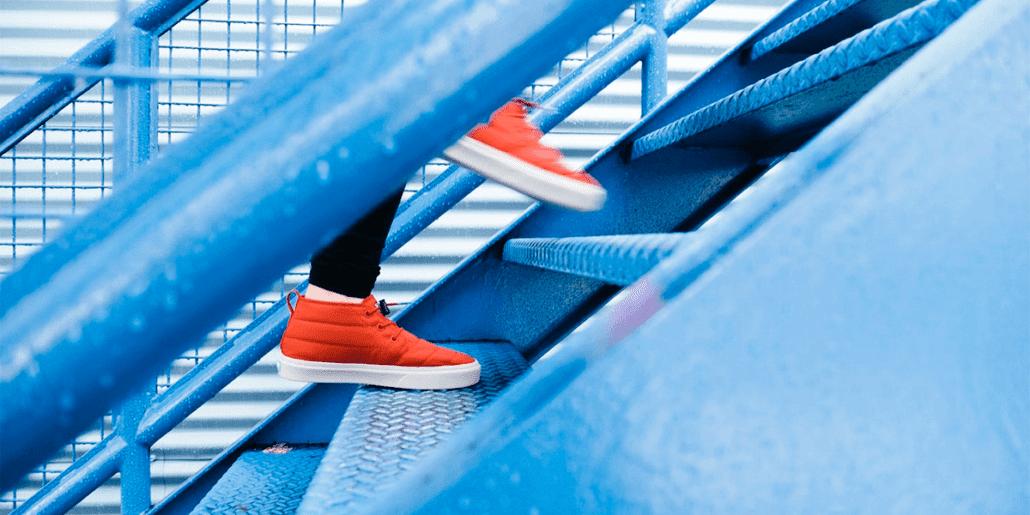 steg i en trapp