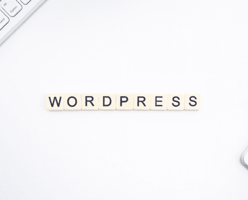 wordpress i bokstaver