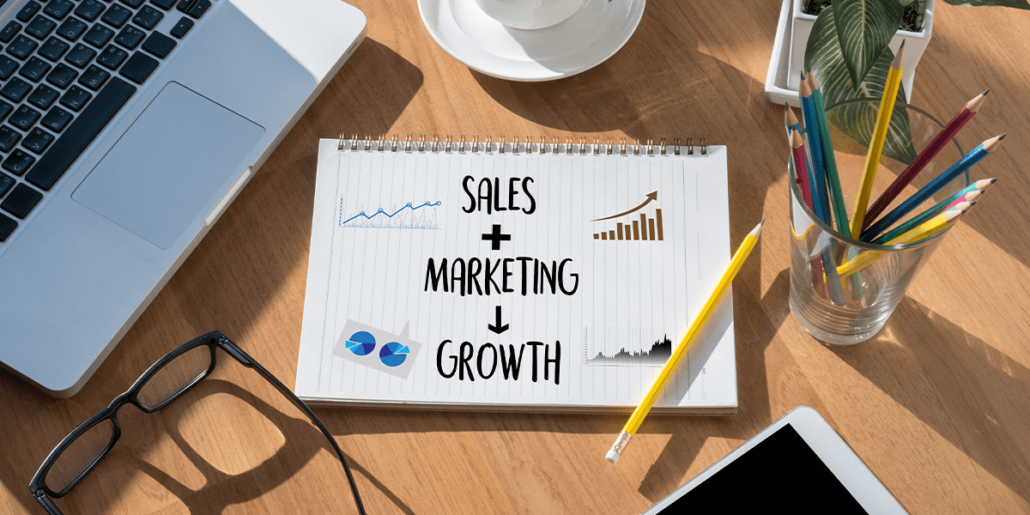 Salg + markedsføring = vekst
