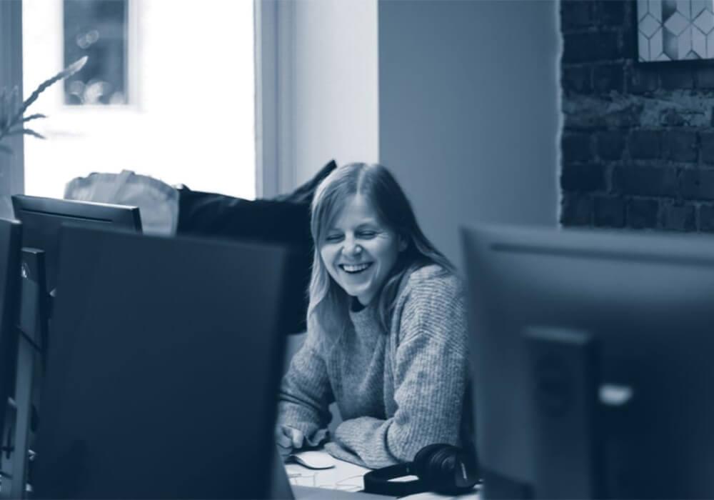 Performance marketing specialist Kristina ler